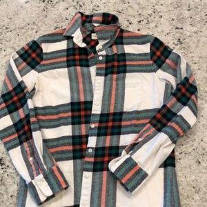 Rock Salt Plaid Flannel
